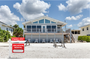 Text Marketing Sign for Vacation Homes